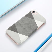 Marble and Wood Pattern iPhone Case, Phone Case, Nordic Home Accessories, Elm & Blue, Style Life Home
