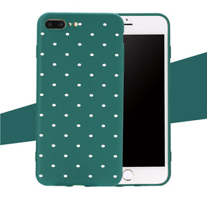 Spotty iPhone Cover, Phone Case, Nordic Home Accessories, Elm & Blue, Style Life Home