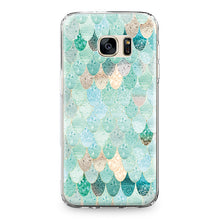 Galaxy Gold Green Phone Cover, Phone Case, Nordic Home Accessories, Elm & Blue, Style Life Home