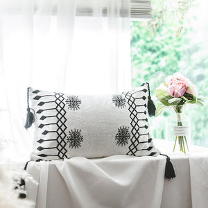 Elegant Knitted Throw and Cushion Covers, Cushion, Nordic Home Accessories, Elm & Blue, Style Life Home