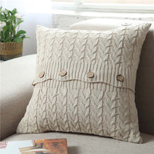 Button Knit Cushion Cover, Cushion, Nordic Home Accessories, Elm & Blue, Style Life Home