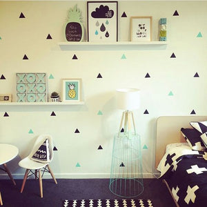 Nordic Triangle Wall Stickers, Wall Sticker, Nordic Home Accessories, Elm & Blue, Style Life Home