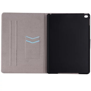 Marble Leather iPad Flip Case, Device Cover, Nordic Home Accessories, Elm & Blue, Style Life Home