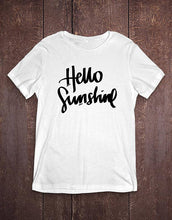 Hello Sunshine T Shirt, Clothing, Nordic Home Accessories, Elm & Blue, Style Life Home