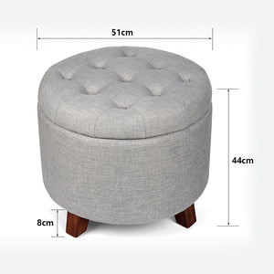Storage Ottoman Stool, Storage, Nordic Home Accessories, Elm & Blue, Style Life Home