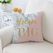 Marble, Gold and Pink Cushion Covers, Cushion, Nordic Home Accessories, Elm & Blue, Style Life Home