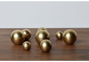 Brass Round Cabinet Handle, Tableware, Nordic Home Accessories, Elm & Blue, Style Life Home