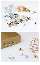 Metallic Push Pins, Stationery, Nordic Home Accessories, Elm & Blue, Style Life Home