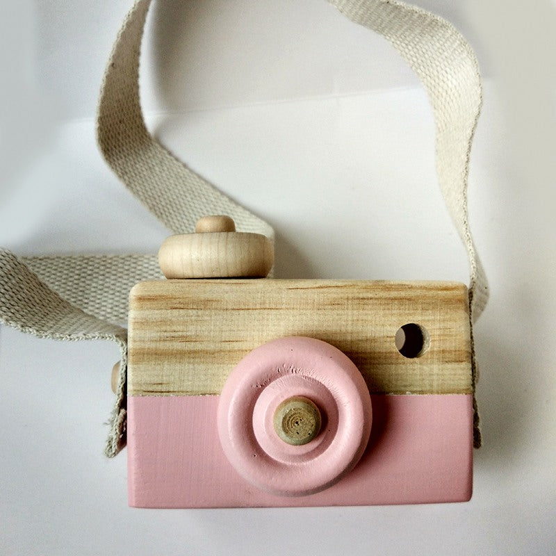 Kids Wooden Toy Camera, Toy, Nordic Home Accessories, Elm & Blue, Style Life Home