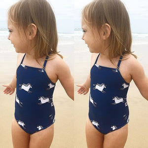 Blue Unicorn Swimsuit, Swimwear, Nordic Home Accessories, Elm & Blue, Style Life Home