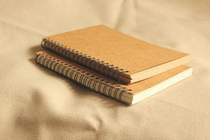 Retro Craft Notebook, Stationery, Nordic Home Accessories, Elm & Blue, Style Life Home
