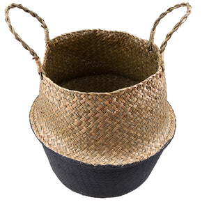 Foldable Woven Wicker Basket, Storage, Nordic Home Accessories, Elm & Blue, Style Life Home