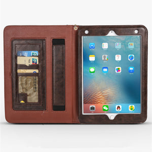 Faux Leather iPad Case, Device Cover, Nordic Home Accessories, Elm & Blue, Style Life Home