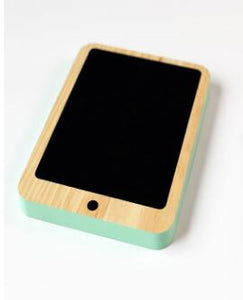 Phone Wooden Chalkboard, Toy, Nordic Home Accessories, Elm & Blue, Style Life Home