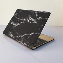 Marble Texture Macbook Case, Device Cover, Nordic Home Accessories, Elm & Blue, Style Life Home