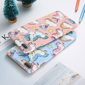 Cute Cartoon iPhone Case, Phone Case, Nordic Home Accessories, Elm & Blue, Style Life Home