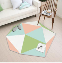 Colourful Rug, Rug, Nordic Home Accessories, Elm & Blue, Style Life Home