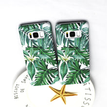 Leaf Galaxy Phone Case, Phone Case, Nordic Home Accessories, Elm & Blue, Style Life Home
