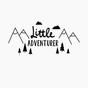Little Adventurer Wall Sticker, Wall Sticker, Nordic Home Accessories, Elm & Blue, Style Life Home