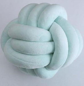 Knot Ball Cushion, Cushion, Nordic Home Accessories, Elm & Blue, Style Life Home