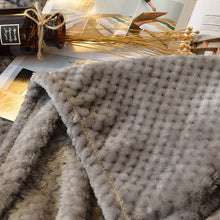 Detailed Luxury Blanket, Throw, Nordic Home Accessories, Elm & Blue, Style Life Home