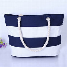Stripes Beach Bag, Holiday, Nordic Home Accessories, Elm & Blue, Style Life Home
