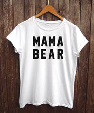 Mama Bear T Shirt, Clothing, Nordic Home Accessories, Elm & Blue, Style Life Home