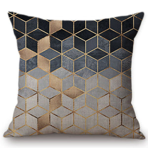 Cube Cushion Covers, Cushion, Nordic Home Accessories, Elm & Blue, Style Life Home