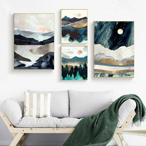 Beautiful Landscape Wall Art, Wall Art, Nordic Home Accessories, Elm & Blue, Style Life Home