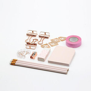 Rose Gold Stationery Set, Stationery, Nordic Home Accessories, Elm & Blue, Style Life Home