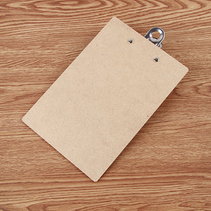A4 Wooden Clipboard, Stationery, Nordic Home Accessories, Elm & Blue, Style Life Home
