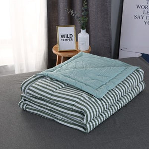 Quilted Comforter Throw, Bedding, Nordic Home Accessories, Elm & Blue, Style Life Home