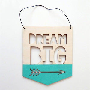Dream Big Wall Art, Wall Art, Nordic Home Accessories, Elm & Blue, Style Life Home