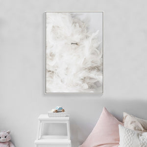 Feather Wall Art, Wall Art, Nordic Home Accessories, Elm & Blue, Style Life Home