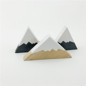 Rural Mountain Range Ornaments, Ornament, Nordic Home Accessories, Elm & Blue, Style Life Home
