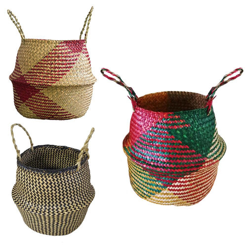 Woven Colourful Basket
