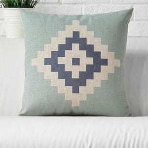 Green and Cream Cushion Covers, Cushion, Nordic Home Accessories, Elm & Blue, Style Life Home