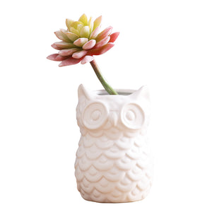Owl Vase, Ornament, Nordic Home Accessories, Elm & Blue, Style Life Home