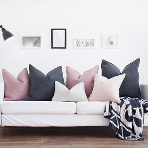 Solid Colour Cushion Covers, Cushion, Nordic Home Accessories, Elm & Blue, Style Life Home