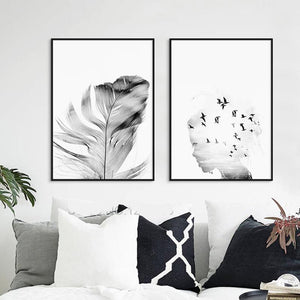 Romantic Wall Art, , Nordic Home Accessories, Elm & Blue, Style Life Home