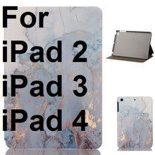 Marble Pattern iPad Cover, Device Cover, Nordic Home Accessories, Elm & Blue, Style Life Home