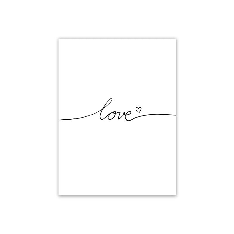 Love Inspired Canvas Art, Wall Art, Nordic Home Accessories, Elm & Blue, Style Life Home