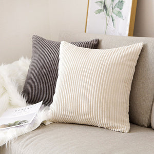 Corduroy Cushion Covers, Cushion, Nordic Home Accessories, Elm & Blue, Style Life Home