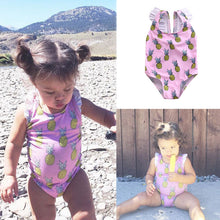 Girls Pineapple Swimsuit, Swimwear, Nordic Home Accessories, Elm & Blue, Style Life Home