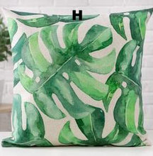 Leaf Design Cushion Covers, Cushion, Nordic Home Accessories, Elm & Blue, Style Life Home