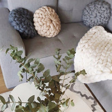 Handmade Knitted Cushions, Cushion, Nordic Home Accessories, Elm & Blue, Style Life Home