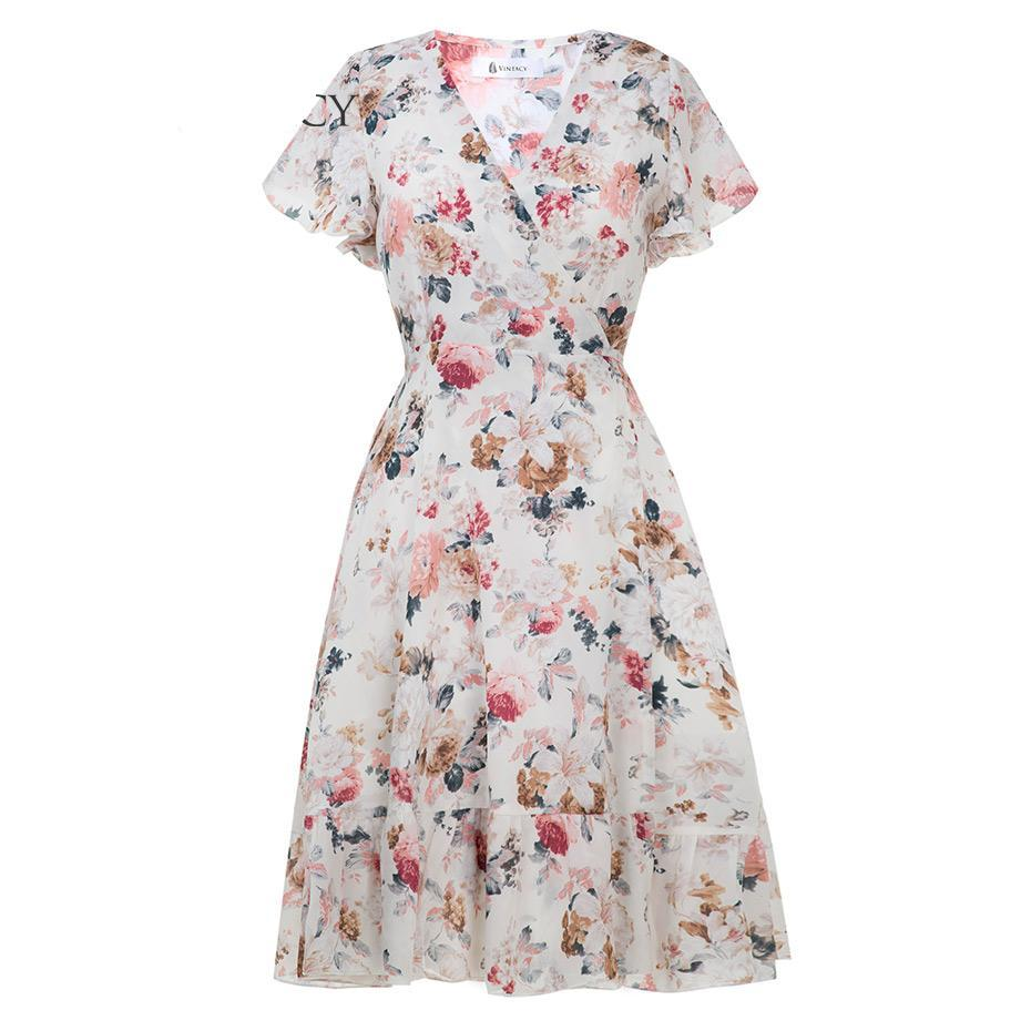 Floral Casual Dress, Clothing, Nordic Home Accessories, Elm & Blue, Style Life Home