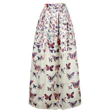 Butterfly Satin Maxi Skirt, Clothing, Nordic Home Accessories, Elm & Blue, Style Life Home