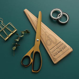Vintage Brass Scissors, Stationery, Nordic Home Accessories, Elm & Blue, Style Life Home