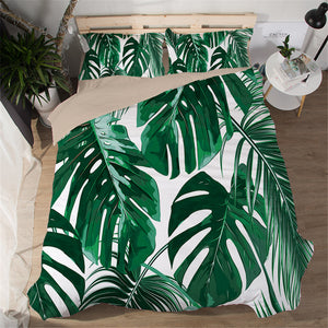 Leaves Bedding Sets, Bedding, Nordic Home Accessories, Elm & Blue, Style Life Home